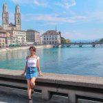 自然たっぷり美しい街並、スイス・チューリッヒの1日観光